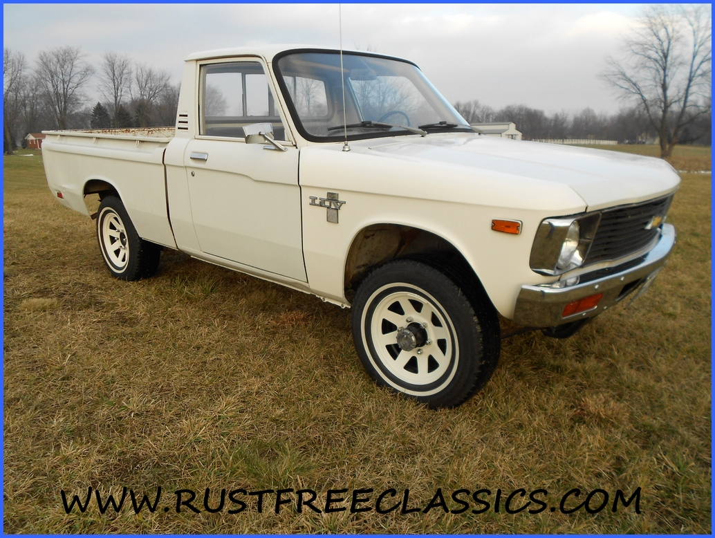 1979 79 Chevrolet Chevy Luv 4x4 Four Wheel Drive White 1980 Specs